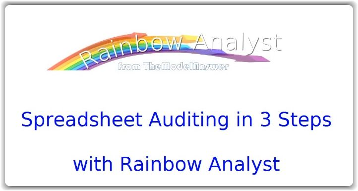 Spreadsheet Auditing in 3 Steps